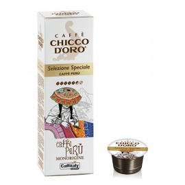 Confezione 10 capsule caffè Monorigine Perù - Caffitaly