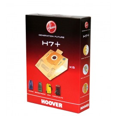 Confezione da 5 sacchi in carta H7+
