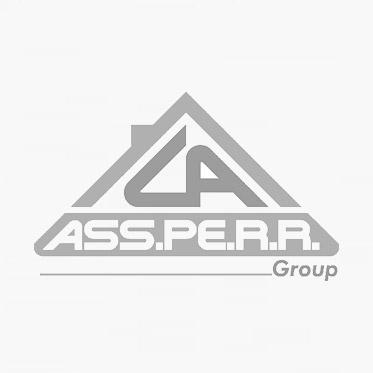 Vello bianco in poliestere da 55 cm.