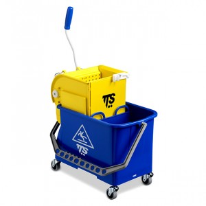 Carrello Double Bucket blue da 20 Lt.