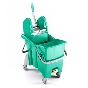 Carrello Action Pro verde da 30 Lt.