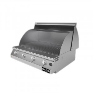 Barbecue a gas Fry Top 750 Basic da appoggio 4 bruciatori 1031-T