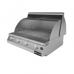 Barbecue a gas Fry Top 750 Stone 4 bruciatori 1032