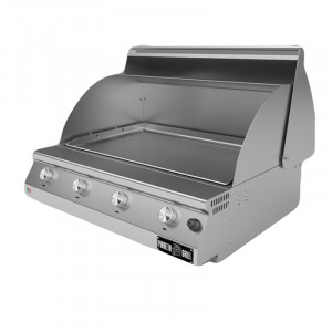 Barbecue a gas Fry Top 750 Teppan 4 bruciatori 1033