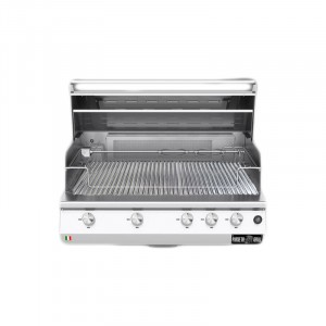 Barbecue a gas Fry Top 750 Basic da appoggio 5 bruciatori 1040-V