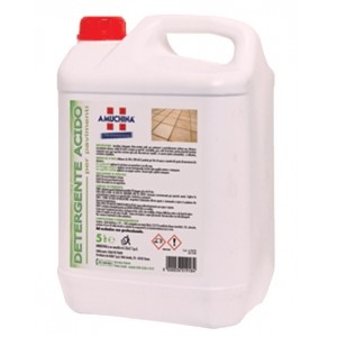 Detergente disincrostante acido