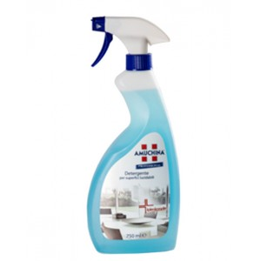 Detergente igienizzante per superfici lucidabili
