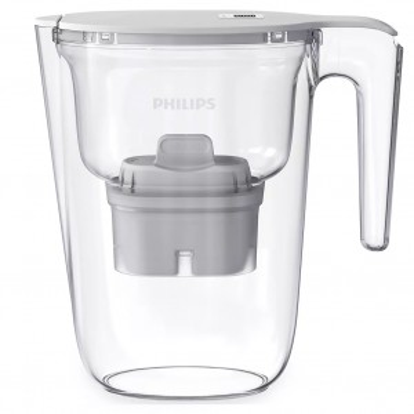 Caraffa filtrante Philips da 2,6 litri con timer