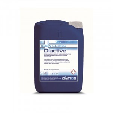 Diactive detergente igienizzante alcalino clorattivo 5 LT