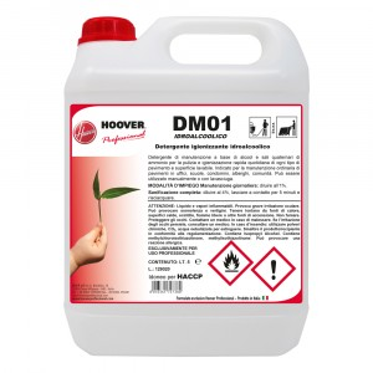 DM01 Idroalcoolico Detergente igienizzante