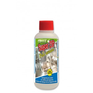 Detergente e brillantante Zipper acciaio inox da 250 ml.