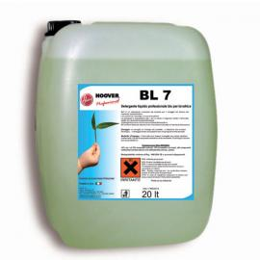 Detergente liquido professionale bio per lavatrici BL7