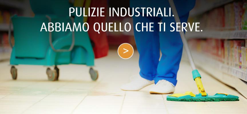 Detergenti e attrezzature per pulizie industriali